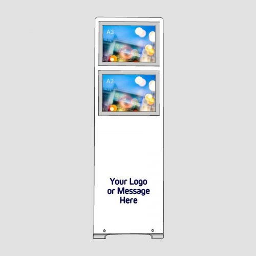 a3 poster display stand with logo