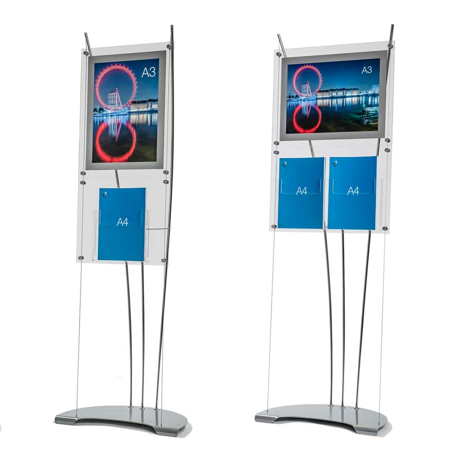 poster and leaflet display stands