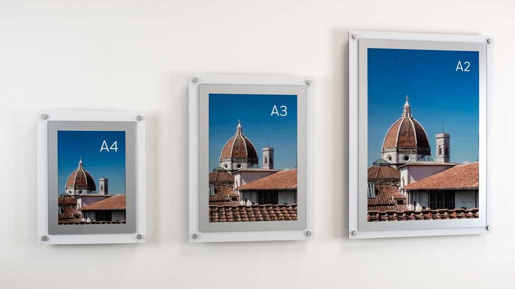 aluminium poster holder frame