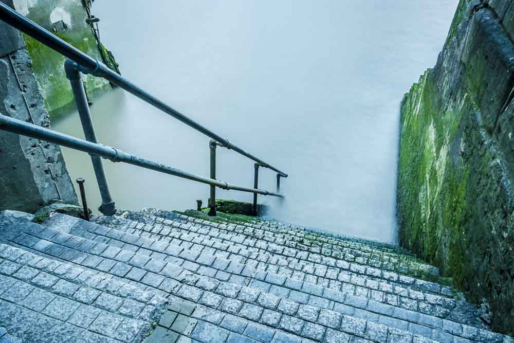 wapping old steps thames long exposure