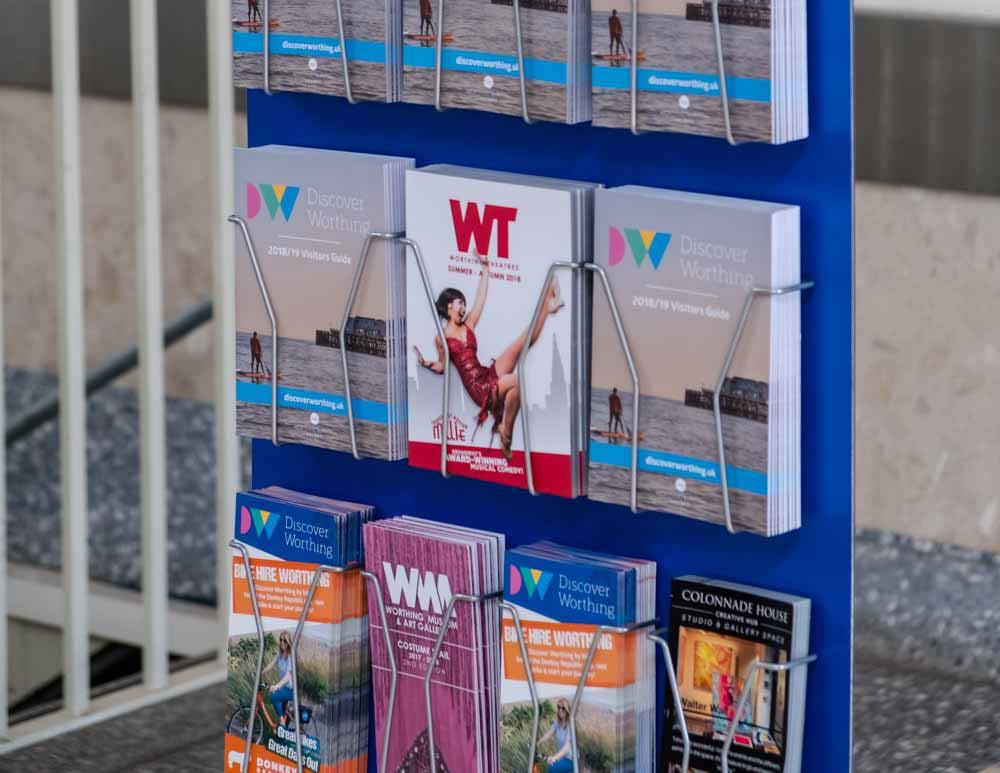 modular leaflet holder stand